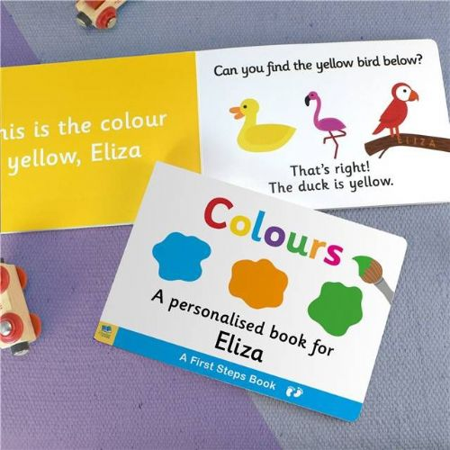 Personalised Learn Colours Book for Toddlers